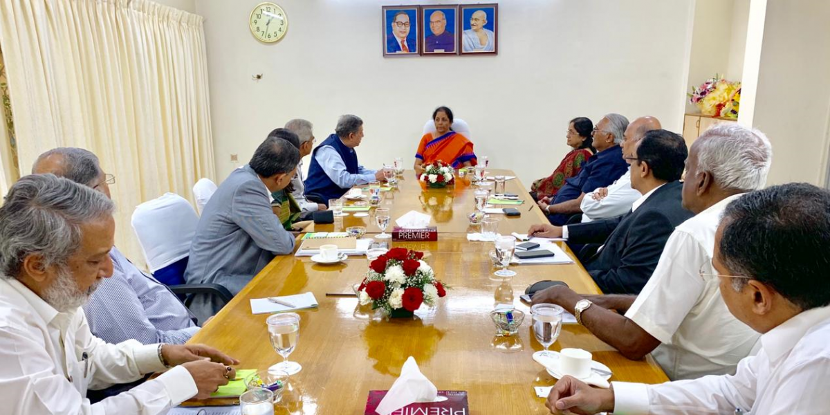 As Economy Slump Continues, Sitharaman Meets Top Industrialists