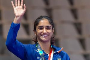 Vinesh Phogat Becomes First Indian Wrestler to Qualify for Tokyo 2020