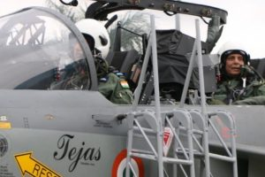 In a First, Defence Minister Flies in Indigenously Built Light Combat Tejas Fighter