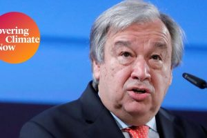 UN Secretary General Urges Public Pressure to Address the Climate 'Emergency'