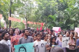 Unrest At Jadavpur University After Students Clash With Babul Supriyo
