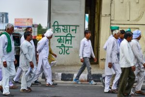 Farmers' March From UP Reaches Delhi