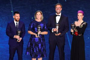 Lionel Messi and Megan Rapinoe Win 'Best Player' at FIFA Awards