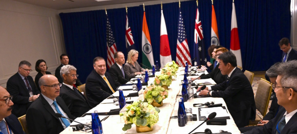 'Quad' Gets an Upgrade as Foreign Ministers of India, Japan, Australia, US Meet