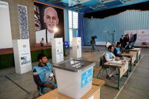 Afghan Voters Brave Violence as Presidential Election Begins
