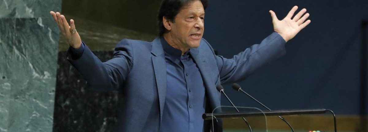 UNGA: Imran Raises Spectre of Kashmir 'Bloodbath'; India Hits Back With Questions