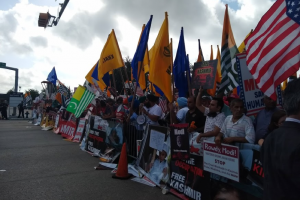 Meet the People Who Protested Outside the 'Howdy, Modi!' Event in Houston