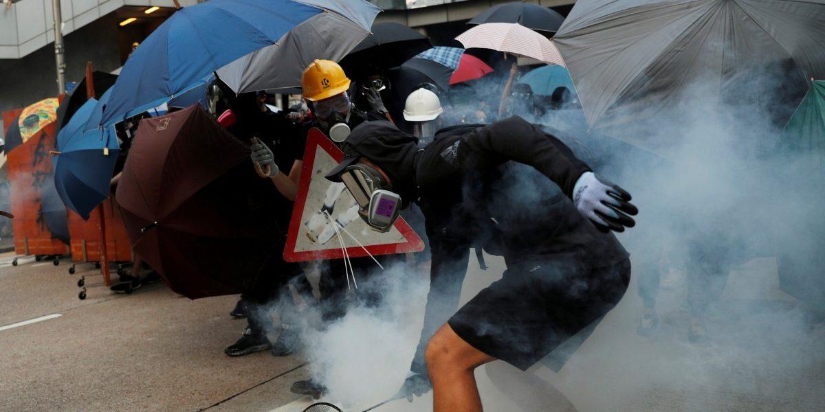 Hong Kong Protests: Universities See Savage Clashes Between Police, Agitators