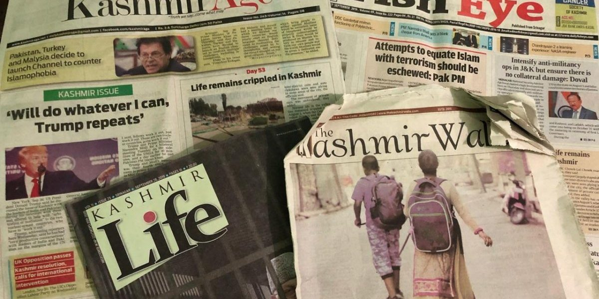 In J&K, More International News on Front Pages Than News on Kashmir