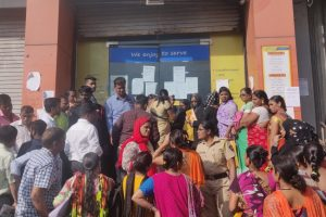 At PMC Bank's Branches, Angry Customers Protest, Ask Who is Accountable