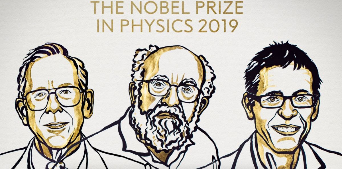 James Peebles, Didier Queloz and Michael Mayor Win 2019 Physics Nobel Prize