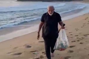 Modi Releases Waste Collection Video, Twitter Points Out Use of Plastic