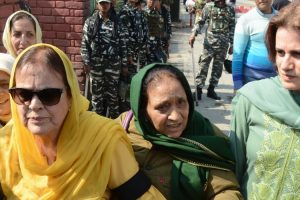 Farooq Abdullah's Sister, Daughter Detained During Srinagar Protest