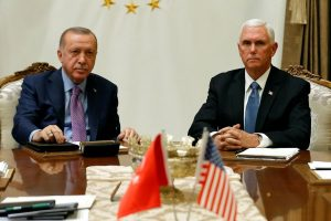 Pence, Erdogan, Kurdish SDF Agree to 120-Hour Ceasefire in Syria