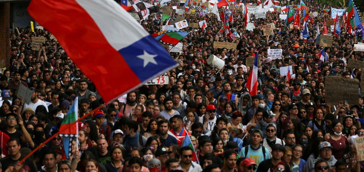 Chile: One Million March for Social Reform in Santiago