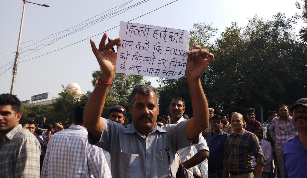 Delhi Police Protest Ends After Assurance From Seniors
