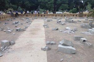 Installation by Artist Adeela Suleman Destroyed at Karachi Biennale