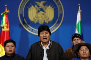 Bolivia President Evo Morales Announces Resignation