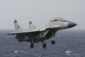 Navy MIG Trainer Crashes in Goa Village, Both Pilots Safe