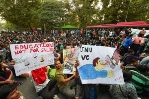 JNU Fee Hike Row: Multi-Party Delegation of RS MPs Seeks HRD Minister's Intervention