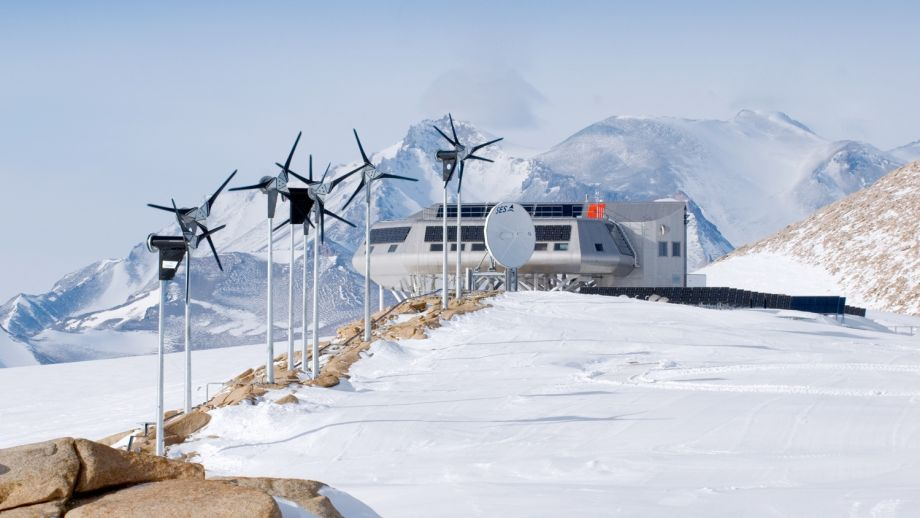 Welcome to Antarctica's First Research Station Powered by Green Energy