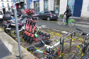 E-Scooters, Bikes and Urban Mobility: Lessons From theStreets ofParis