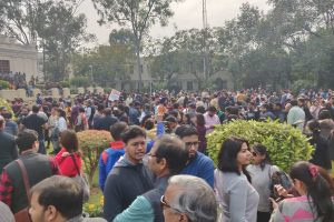 Why are Delhi University Teachers Out on the Road?