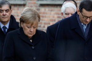 At Auschwitz, Angela Merkel Expresses Shame Over Barbaric Crimes