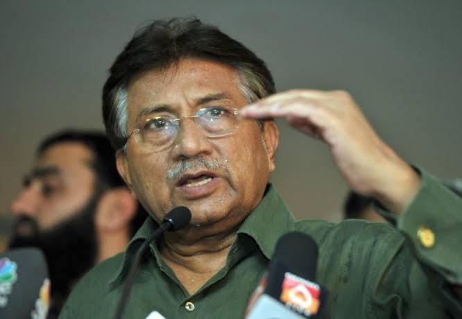 Former Pakistani Military Ruler Pervez Musharraf