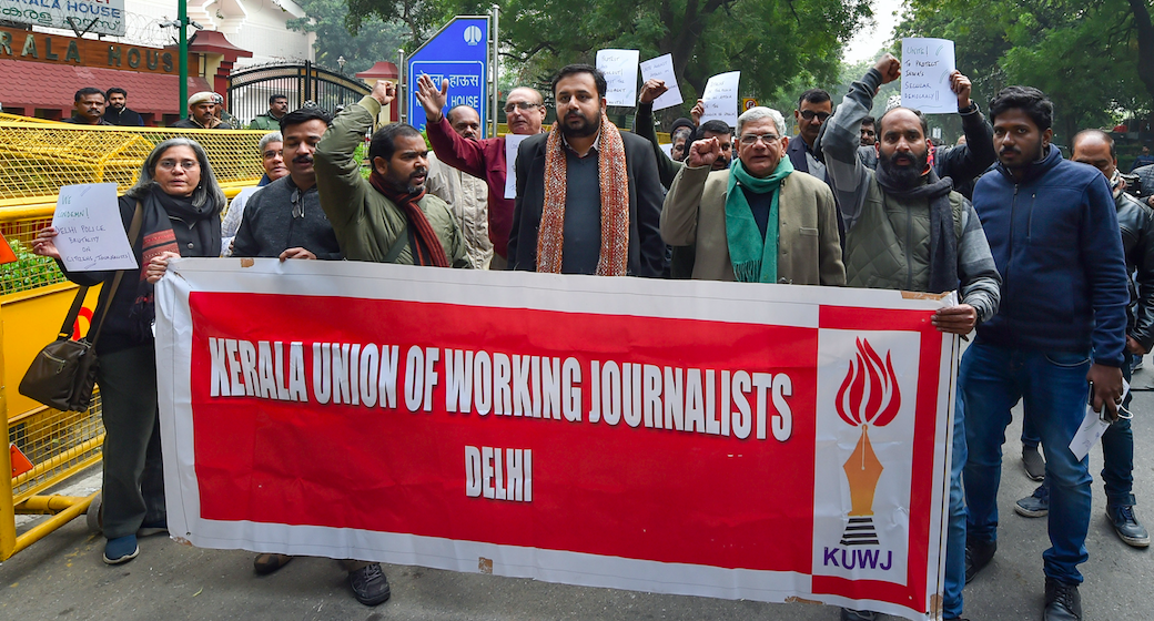 CAA Protests: Journalists Take Out Rally Against Mistreatment by Law Enforcement