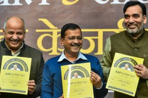 Kejriwal Releases Report Card: High Marks for Education, Health, Water, Electricity