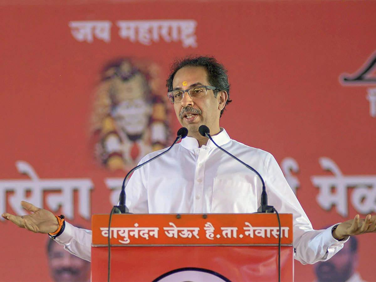 Thackeray的声明是一天在Shiv Sena-Led政府正式批准了一项贷款豁免计划,该计划在农民占用的短期作物贷款高达2万卢比。照片:PTI.