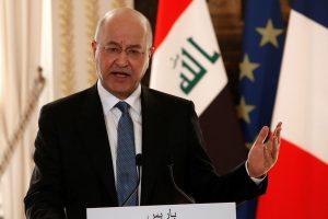 Iraq President Condemns US Strike that Killed Qassem Soleimani, Urges Restraint