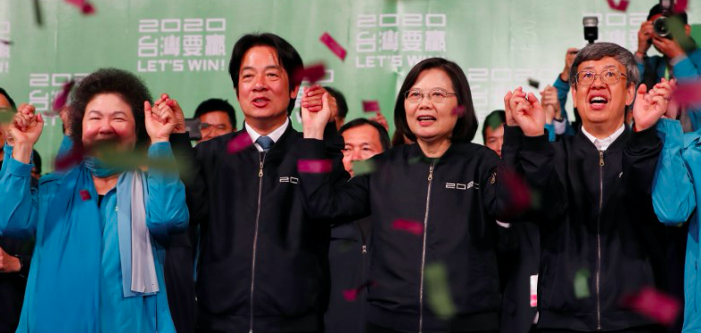 China Will Not Change Position on Taiwan After Landslide Election