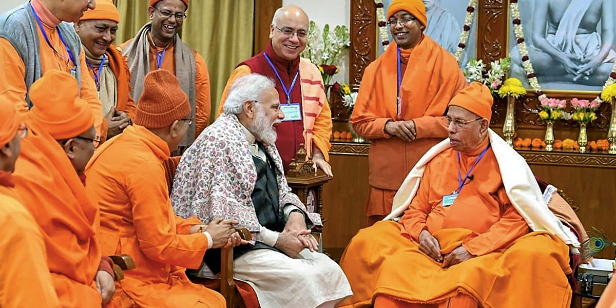 Modi's 'Political' Comments on CAA at Belur Math Upset Ramakrishna Mission Members