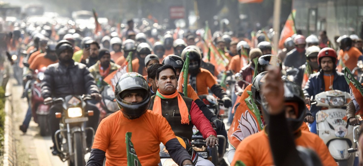 Shadow of Anti-CAA Protests Looms Over Delhi Assembly Polls