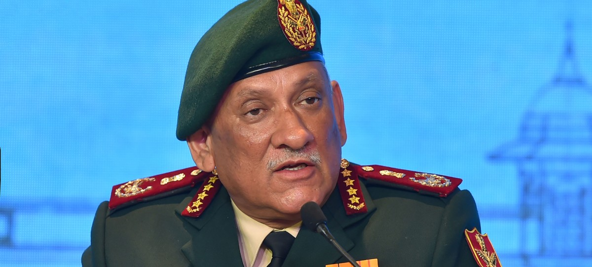CDS Bipin Rawat Advocates Putting Young Kashmiri Children in 'De-Radicalisation Camps'