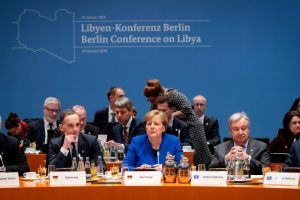 Germany Spearheads the Diplomatic Initiative at Libya Summit