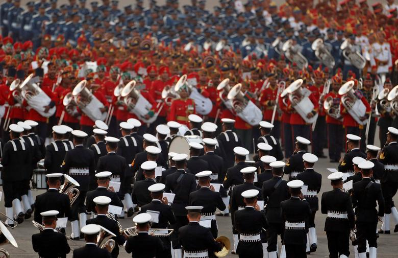 Playing 'Abide With Me' at Beating Retreat a Matter of Tradition, Memory and Hard Work