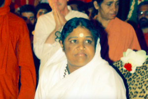 How Did Mata Amritanandamayi Devi Become the First Author of a Scientific Paper?