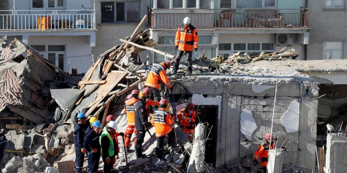 Rescuers Pull Dozens From Rubble as Turkey Quake Toll Hits 35