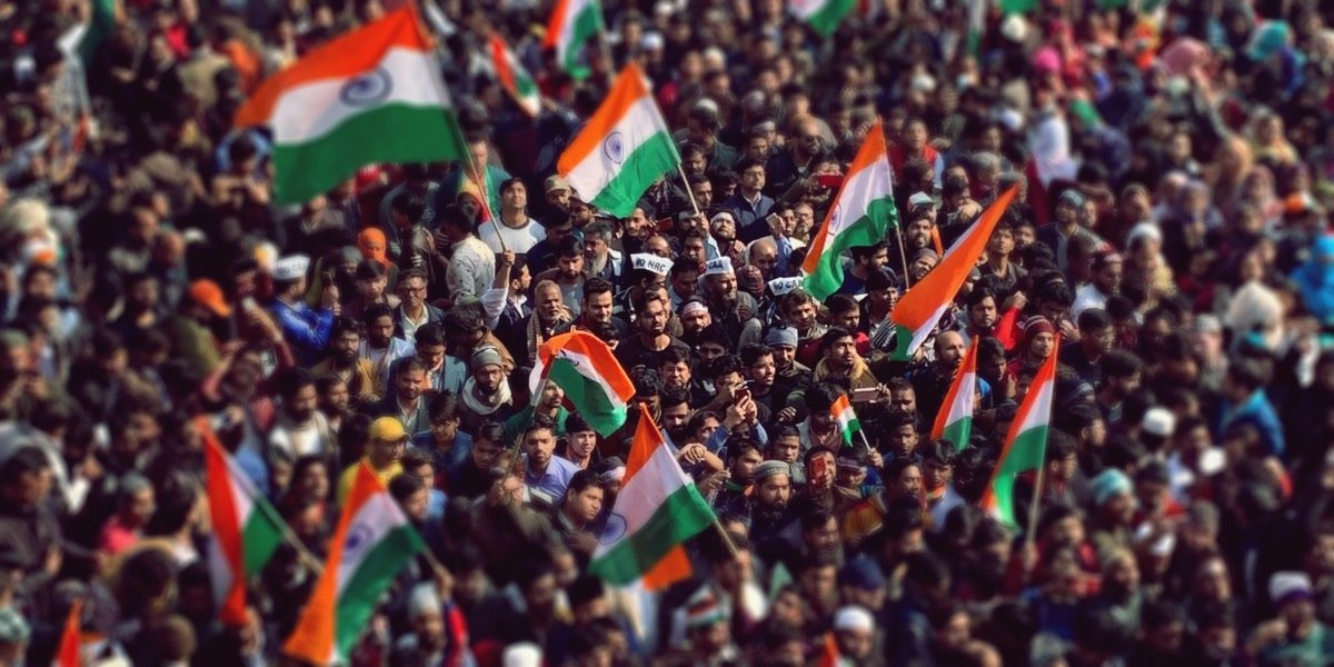 In Photos: Republic Day at Shaheen Bagh