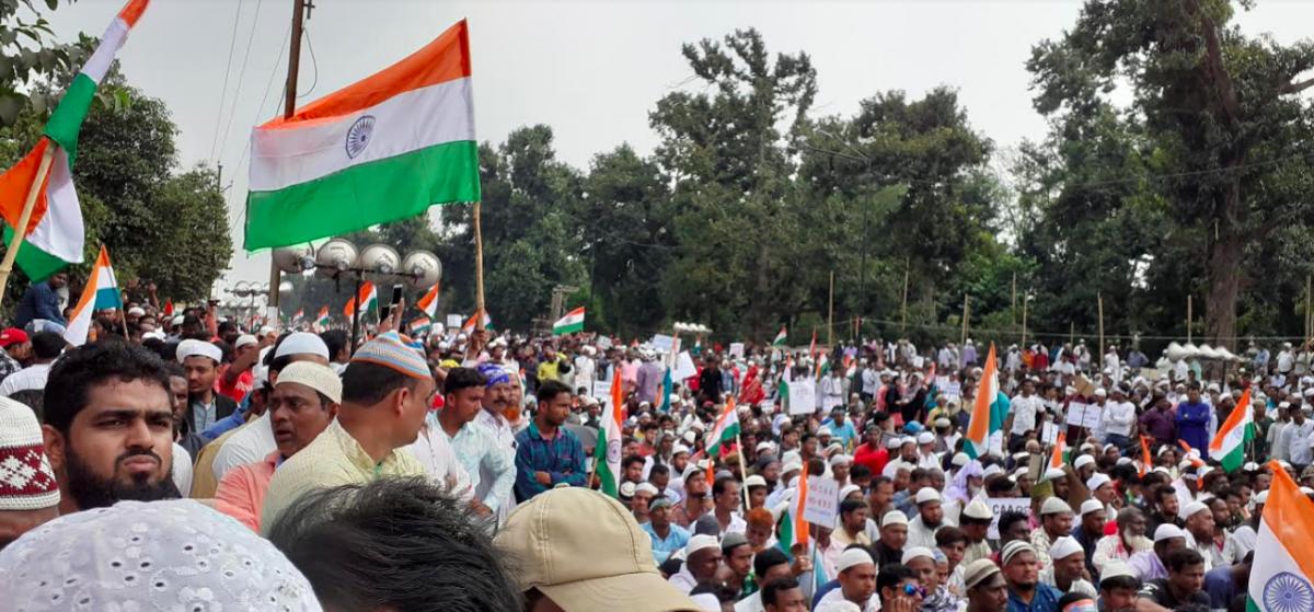 On Gandhi's Death Anniversary, Bhubaneswar Witnesses its Biggest Anti-CAA Protest