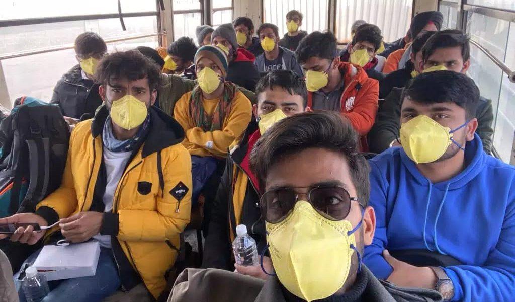 From China to Chhawla: Indian Student Documents Flight from Coronavirus