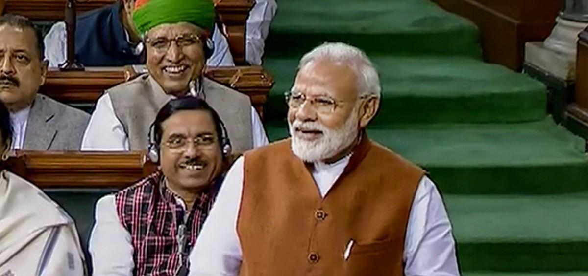 In Parliament, Modi Targets Omar Abdullah by Quoting Satirical Website 'Faking News'