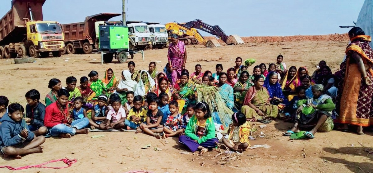 Odisha: Digging for Talabira Open Cast Mine Continues Despite Wide-Scale Protests