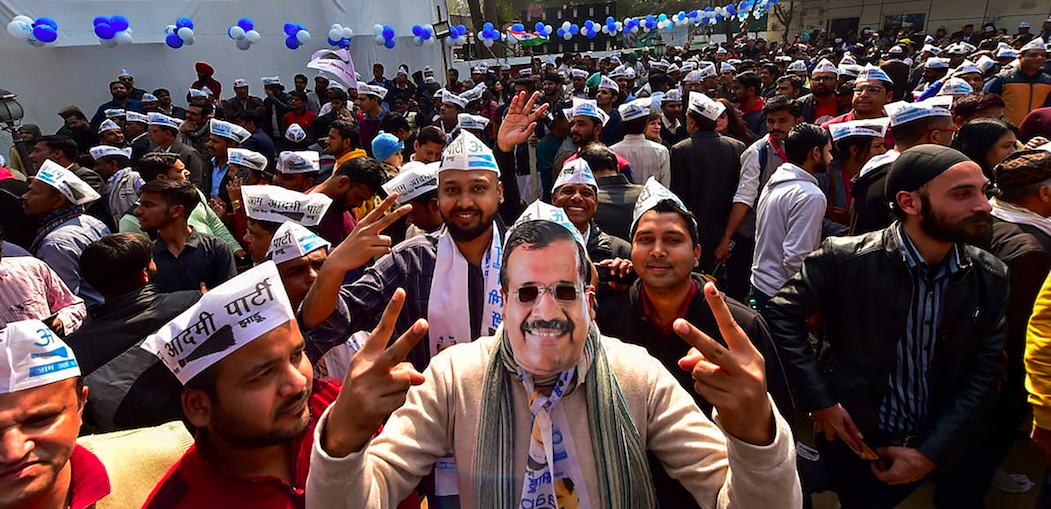 AAP Wins Big in All 5 Seats With Over 40% Muslim Population