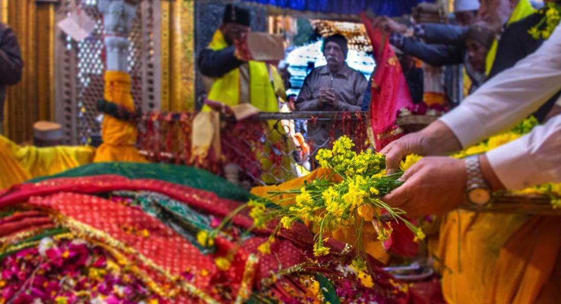 At Nizamuddin Auliya's Dargah, Basant is the Colour of Harmony