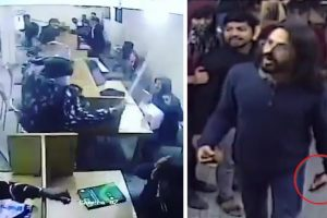 Watch | Jamia CCTV Video: Was it a Piece of Stone or a Wallet in a Student's Hand?