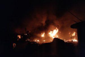 At Gokalpuri Tyre Market, Fire Rages as Hindutva Activists Shout Slogans